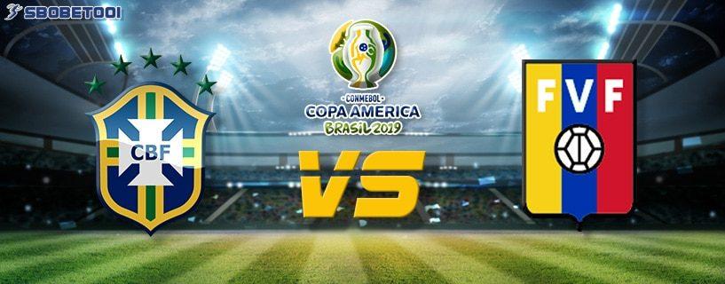 ทีเด็ดVIP โคปา อเมริกา 2019 : บราซิล VS เวเนซูเอล่า