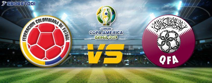ทีเด็ดVIP โคปา อเมริกา 2019 : โคลอมเบีย VS กาตาร์