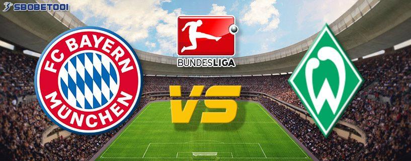 ทีเด็ดVIP บุนเดส ลีกา เยอรมัน : บาเยิร์น VS เบรเมน