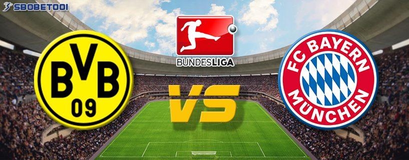 ทีเด็ดVIP บุนเดส ลีกา เยอรมัน : ดอร์ทมุนด์ VS บาเยิร์น