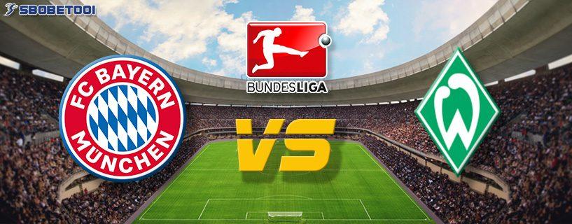 ทีเด็ดVIP บุนเดส ลีกา เยอรมัน : บาเยิร์น มิวนิค VS เบรเมน