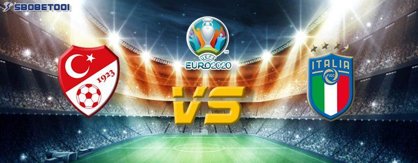 ทีเด็ดVIP ยูโร 2020 : ตุรกี VS อิตาลี