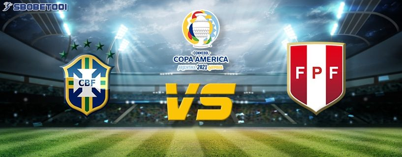 ทีเด็ดVIP โคปา อเมริกา 2021 : บราซิล VS เปรู